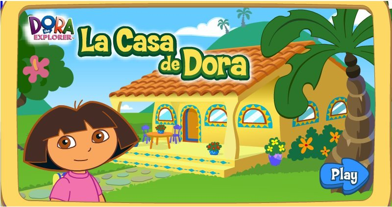 Welcome To Dora's House Game - Fun Girls Games