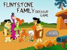 Flinstone family dress up game.