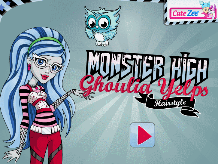 monster high ghoulia yelps game