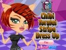 Chibi Toralei Stripe Dress Up game.