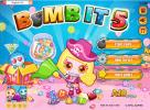 Bomb it 5 game. Press START GAME or HOW TO PLAY.
