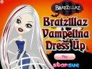 Bratzillaz Vampelina dress up game.