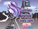Catrine DeMew dress up game.