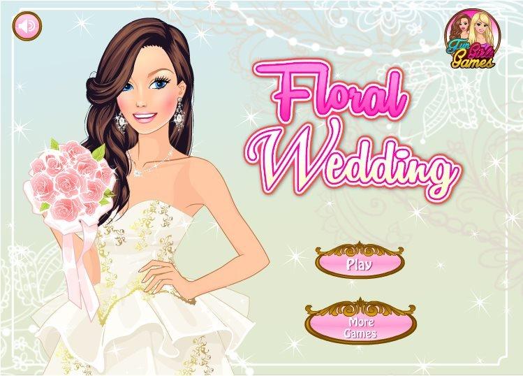 Floral Wedding Game Fun Girls Games
