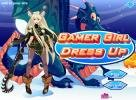 Gamer girl dress up game.