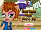 Howleen Wolf Dress up game.
