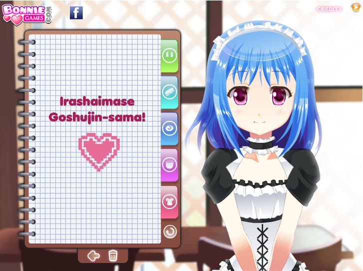 Japanese Maid Dress Up Game-8985