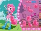 Choose a new dress for Pinkie Pie in this mlp game.
