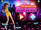 Primadonna dancer dress up game.