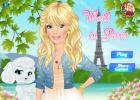 Walk in Paris dress up game.
