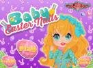 Baby Easter nails game.