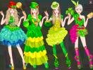 4 cool dresses for Barbie on St. Patricks Day