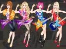 Barbie the Rock Star dress up game.