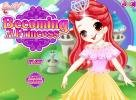Play Becoming a Princess dress up game!