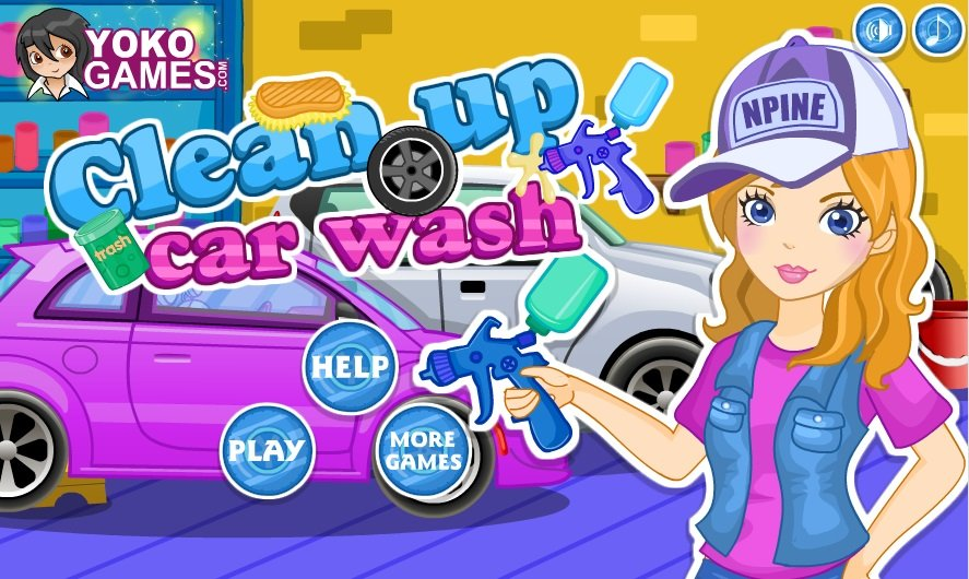 Cleaning The Car Game Fun Girls Games