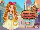 Mirror Beach Ashlynn Ella dress up game.