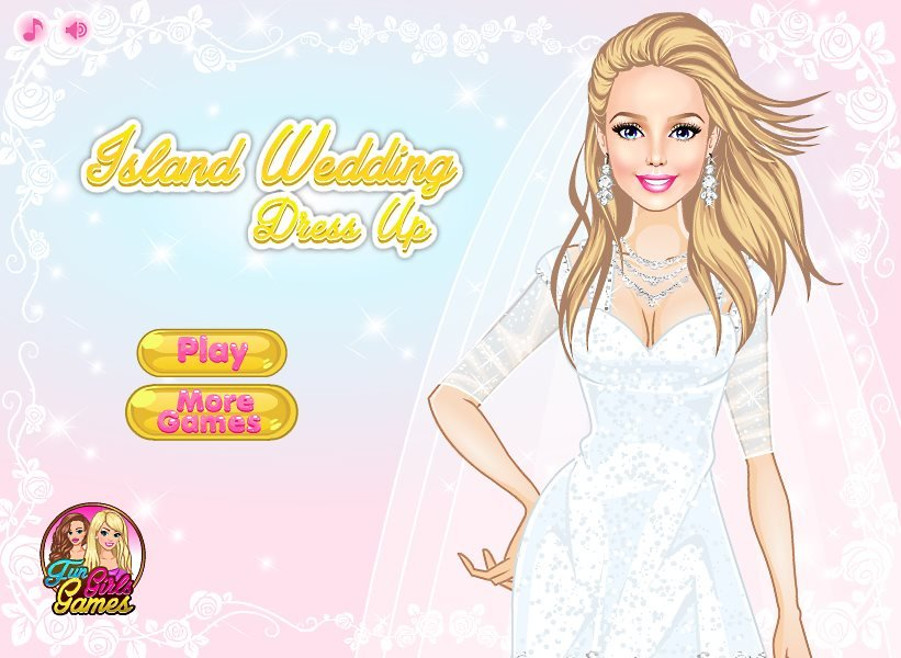 Island Wedding Dress Up Game Fun Girls Games