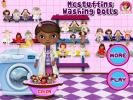 Mcstuffins Washing Dolls game.