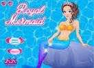 Mermaid princess dressup game.