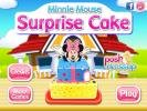 Minnie Mouse Surprise Cake game.