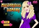 Mysterious vampire girl dress up game.