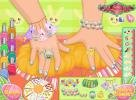 New nails for little girls.