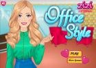 Office style dress up game.
