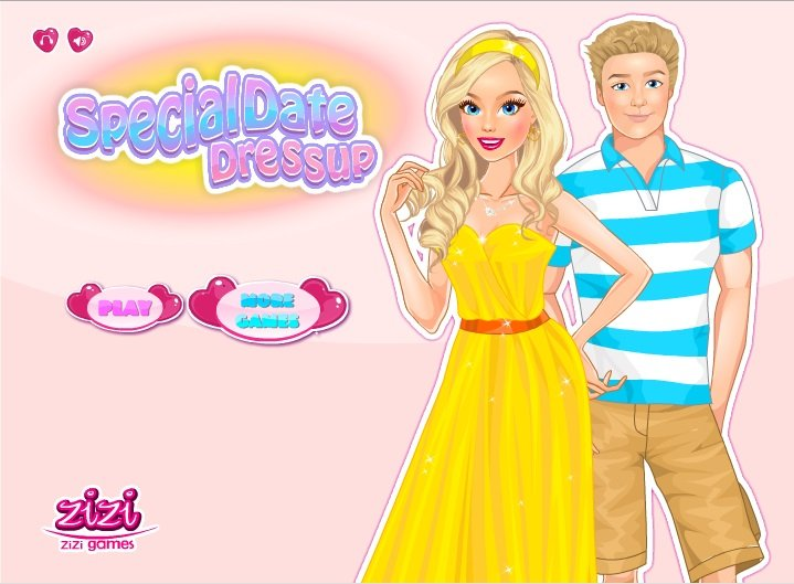 Special Date Dress Up Game-2933