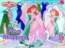 Ariel prom shopping game.