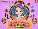 Baby Barbie Ever After High Costumes dress up game.