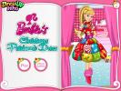Barbies Christmas Patchwork Dress game.