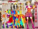Barbie knight princess dress up game.
