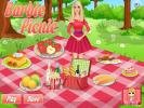 Barbie picnic decoration game.