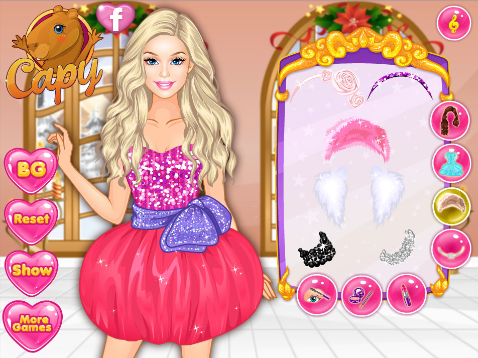 Barbie Winter Prom game