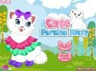 Cute Persian kitty dress up game.