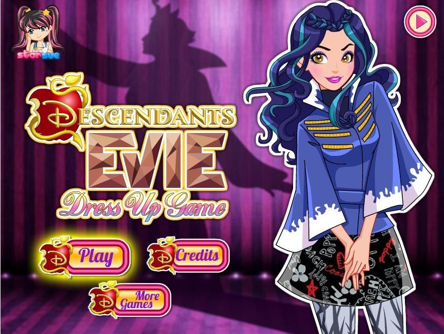 Descendants Evie Dress Up