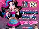 Freaky Fusion Dracubecca dress up game.