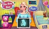 Frozen Elsa Baby Birth game.