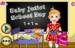 Baby Juliet school day.