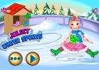 Princess Juliet winter sports game.