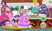My Little Pony Cooking Cake game.