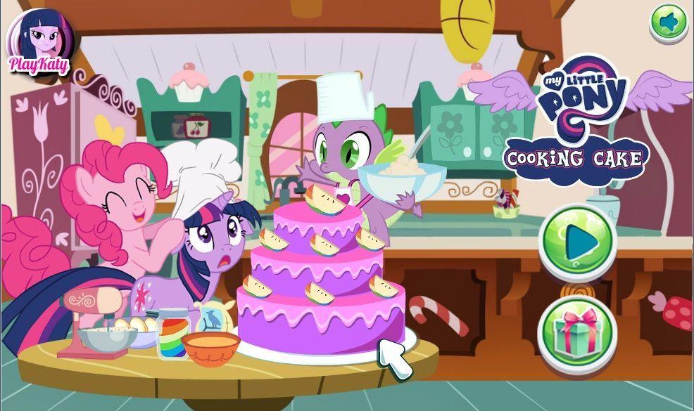 Mlp Cooking Cake Game Free Online