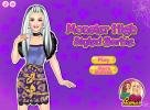 Monster High Barbie Style Dress Up game.