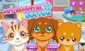 Hospital pet doctor game.