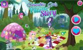Equestria Girls Picnic Story game.