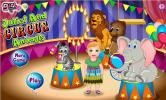Princess Juliet and circus animals game.