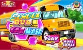 School Bus Car Wash game.