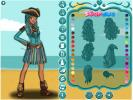 Uma pirate dress up game.