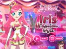 Iris LoliRock dress up game.