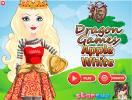Apple White dress up game